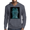 Contemplating the inner man Mens Hoodie