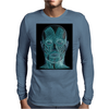 Contemplating the inner man Mens Long Sleeve T-Shirt