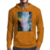 Contemplating the Waterfall Mens Hoodie