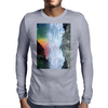 Contemplating the Waterfall Mens Long Sleeve T-Shirt