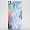 Contemplating the Waterfall Phone Case