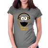 Cookie Monster Cartoon Dubstep Music Dj Womens Fitted T-Shirt