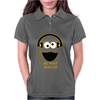 Cookie Monster Cartoon Dubstep Music Dj Womens Polo