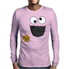 Cookie Monster Mens Long Sleeve T-Shirt