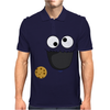 Cookie Monster Mens Polo