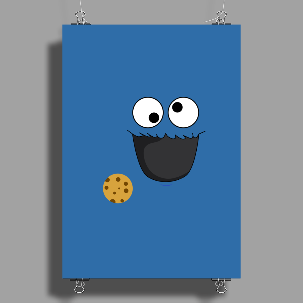 Cookie Monster Poster Print (Portrait)