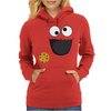 Cookie Monster Womens Hoodie