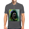 Cool 3D Snail Abstract Mens Polo
