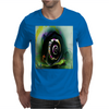Cool 3D Snail Abstract Mens T-Shirt