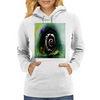 Cool 3D Snail Abstract Womens Hoodie