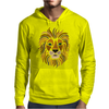 Cool Artsy Regal Lion Art Abstract Mens Hoodie