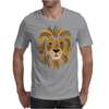 Cool Artsy Regal Lion Art Abstract Mens T-Shirt