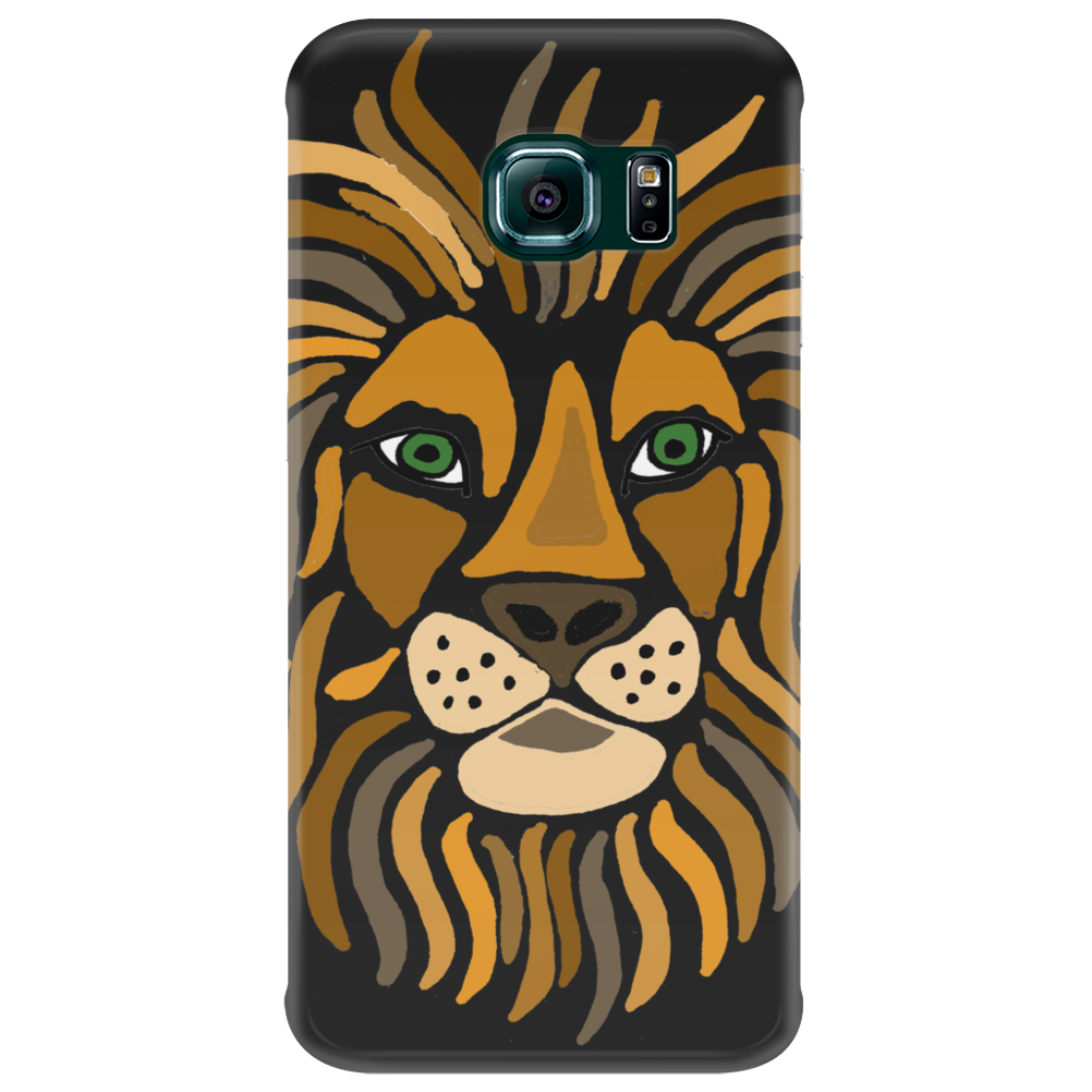 Cool Artsy Regal Lion Art Abstract Phone Case