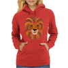 Cool Artsy Regal Lion Art Abstract Womens Hoodie