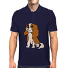 Cool Cavalier King Charles Spaniel Art Mens Polo