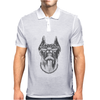 Cool Dog Doberman Wearing Sunglasses & Gold Chain Mens Polo