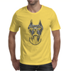 Cool Dog Doberman Wearing Sunglasses & Gold Chain Mens T-Shirt