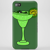 Cool Funky Alligator Swimming in Glass with Margarita Phone Case