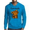 Cool Funny Cat with a Major Attitude Mens Hoodie