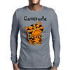 Cool Funny Cat with a Major Attitude Mens Long Sleeve T-Shirt