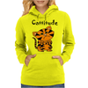 Cool Funny Cat with a Major Attitude Womens Hoodie