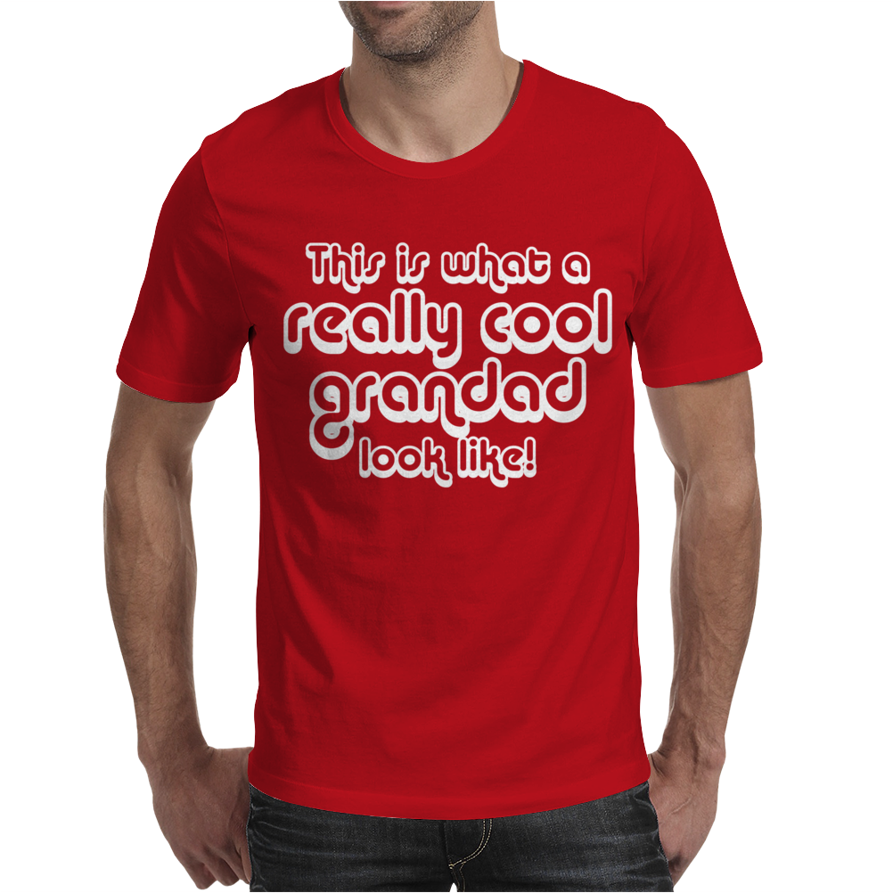 Cool Grandad Mens T-Shirt