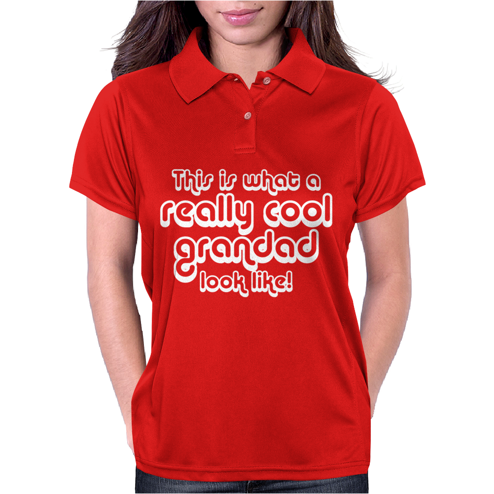 Cool Grandad Womens Polo