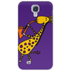 Cool Jazzy Funny Giraffe Playing Saxophone Phone Case