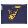Cool Jazzy Funny Giraffe Playing Saxophone Tablet