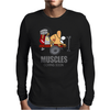 COOL MUSCLES GYM Mens Long Sleeve T-Shirt