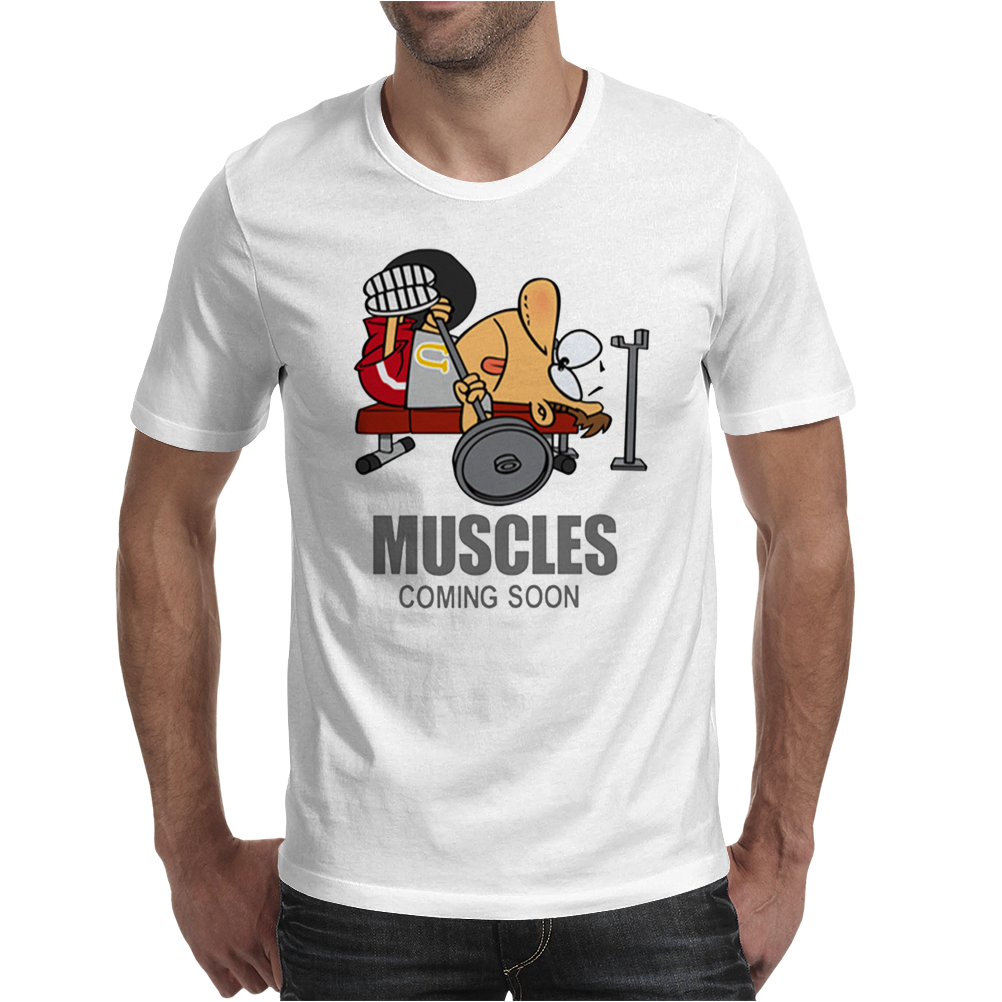 COOL MUSCLES GYM Mens T-Shirt
