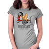 COOL MUSCLES GYM Womens Fitted T-Shirt
