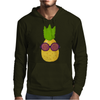 Cool Pineapple Wearing Sunglasses Mens Hoodie