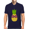 Cool Pineapple Wearing Sunglasses Mens Polo