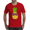 Cool Pineapple Wearing Sunglasses Mens T-Shirt