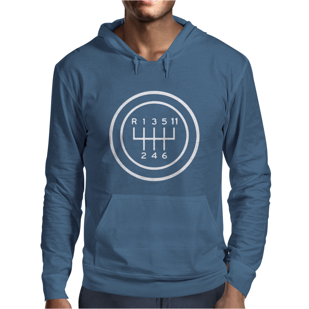 Cool Race Car Mens Hoodie