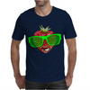 cool strawberry with bright green sunglasses Mens T-Shirt