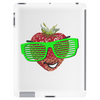 cool strawberry with bright green sunglasses Tablet