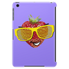 cool strawberry with bright yellow sunglasses Tablet