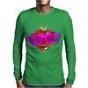 cool strawberry with pink sunglasses Mens Long Sleeve T-Shirt