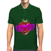 cool strawberry with pink sunglasses Mens Polo