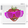 cool strawberry with pink sunglasses Tablet