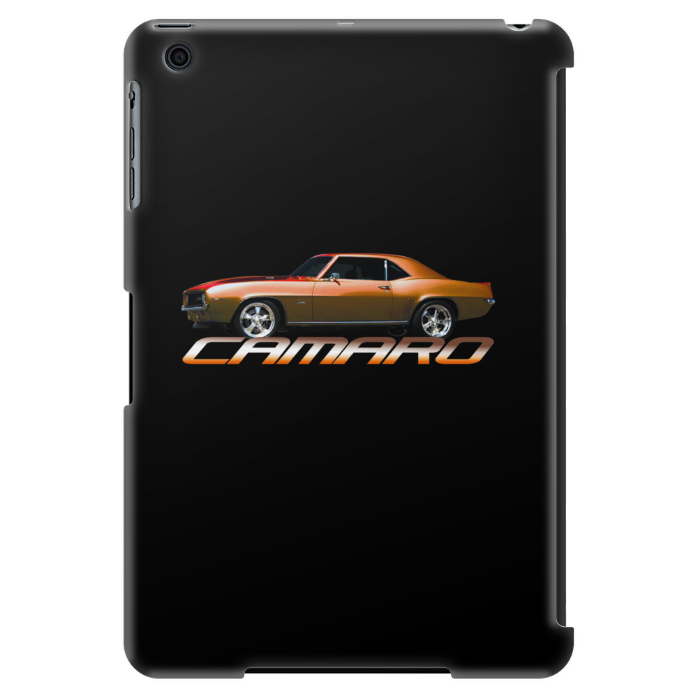 Copper Orange Camaro Z28 1967-68-69 Tablet