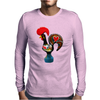 Coq De Barcelos Mens Long Sleeve T-Shirt
