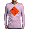 Corrosive Note Mens Long Sleeve T-Shirt