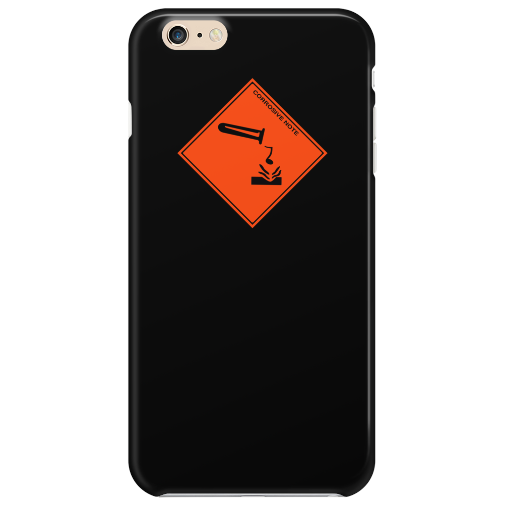 Corrosive Note Phone Case
