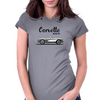 Corvette 1958 Womens Fitted T-Shirt