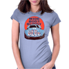 Corvette Old Blue Womens Fitted T-Shirt