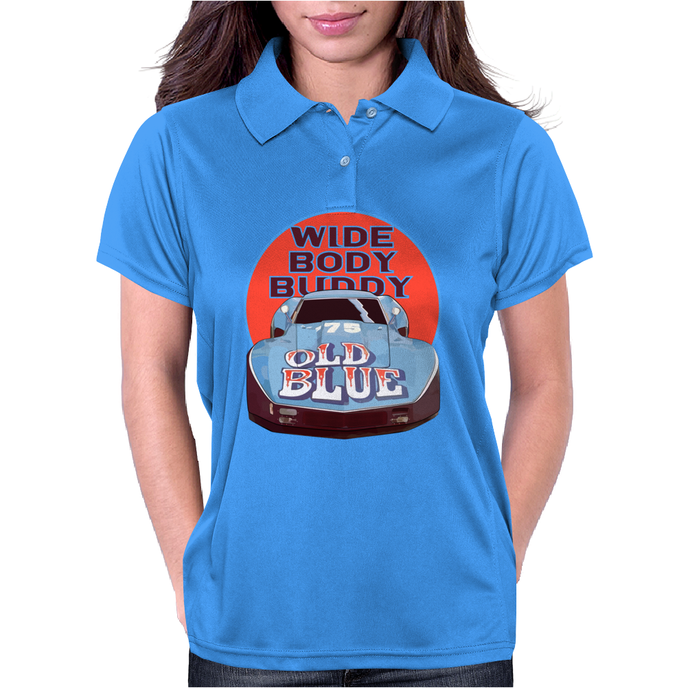 Corvette Old Blue Womens Polo