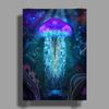 Cosmic Luminescence Poster Print (Portrait)